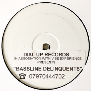 "V/A - Bassline Delinquents EP (12"") (Promo) (G-VG/NM)"